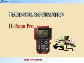 Hi-Scan Pro Application