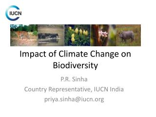 Impact of Climate Change on Biodiversity