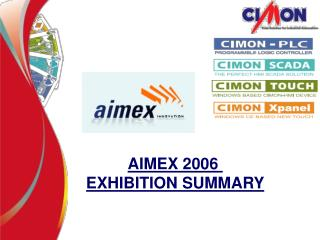 AIMEX 2006  EXHIBITION SUMMARY