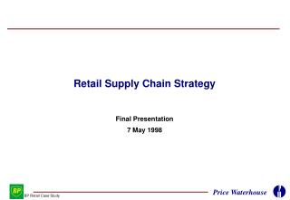 Retail Supply Chain Strategy