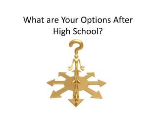 What are Your Options After High School?