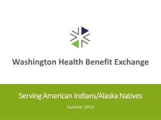 Serving American Indians/Alaska Natives