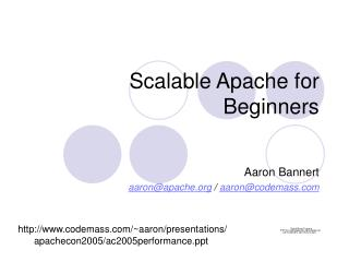 Scalable Apache for Beginners