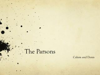 The Parsons