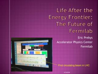 Life After the Energy Frontier: The Future of Fermilab