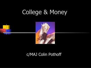 College & Money