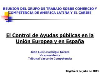 REUNION DEL GRUPO DE TRABAJO SOBRE COMERCIO Y COMPETENCIA DE AMERICA LATINA Y EL CARIBE