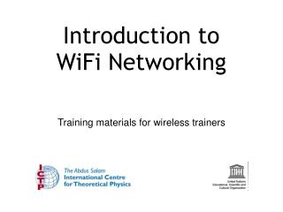 Introduction to WiFi Networking