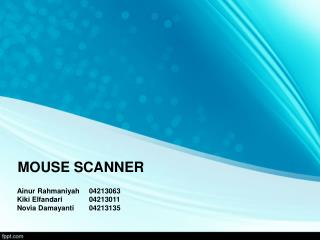 MOUSE SCANNER