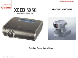 Training, Canon South Africa