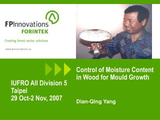 Control of Moisture Content in Wood for Mould Growth