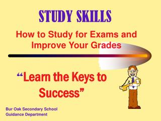 How to Study for Exams and Improve Your Grades