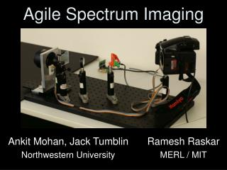 Agile Spectrum Imaging