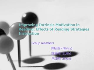 Improving Intrinsic Motivation in Reading: Effects of Reading Strategies Instruction