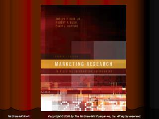 Chapter 1 Marketing Research and Managerial Decision Making