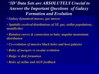 Galaxy dynamical masses, gas masses