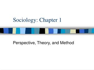 Sociology: Chapter 1