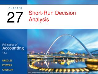 Short-Run Decision Analysis