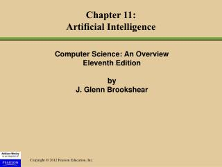 Chapter 11: Artificial Intelligence