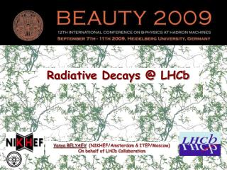 Radiative  Decays @  LHCb