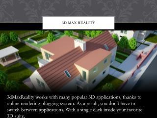 3D Max Rendering Plugin