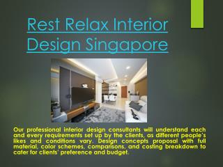 Resort Style HDB Interior Design