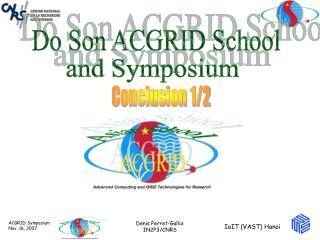 Do Son ACGRID School