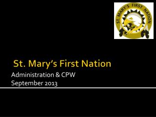 St. Mary's First Nation