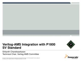 Verilog-AMS Integration with P1800 SV Standard