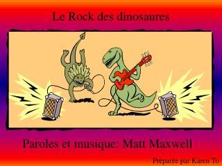 Le Rock des dinosaures