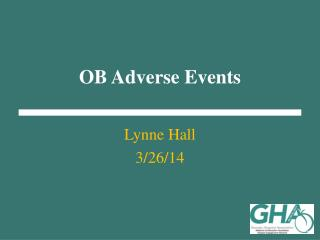OB Adverse Events