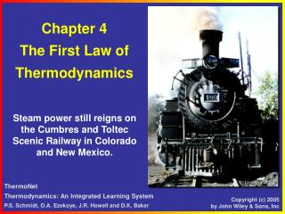 Chapter 4 The First Law of  T hermodynamics