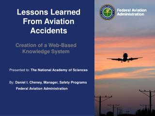 Lessons Learned From Aviation Accidents