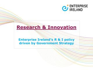 Research & Innovation