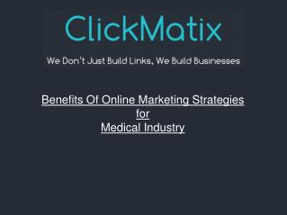 The Benefits Of Using SEO for Medical Industry