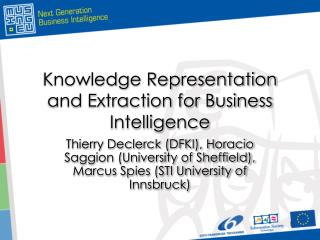 Knowledge Representation and Extraction for Business Intelligence