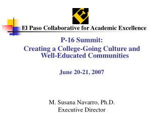 El Paso Collaborative for Academic Excellence