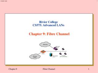 Rivier College CS575: Advanced LANs Chapter 9: Fibre Channel