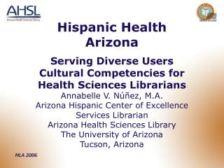 Hispanic Health Arizona