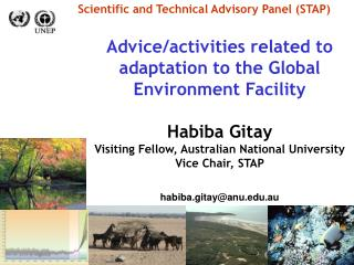 Scientific and Technical Advisory Panel (STAP)