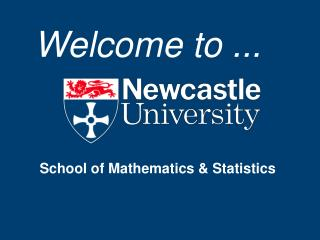 School of Mathematics & Statistics