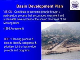 Basin Development Plan