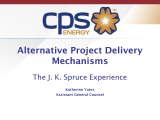 Alternative Project Delivery Mechanisms