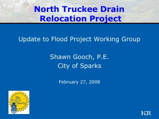 North Truckee Drain Relocation Project