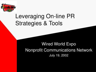 Leveraging On-line PR Strategies & Tools