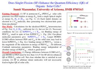 Does Singlet Fission (SF) Enhance the Quantum Efficiency (QE) of Organic  Solar Cells?
