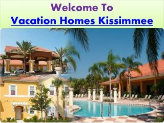 Vacation Homes Kissimmee