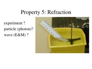 Property 5: Refraction