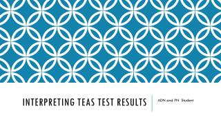 Interpreting TEAS Test Results