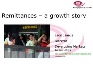 Remittances – a growth story